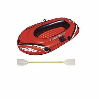 Opblaasbare boot voor kinderen hydro-force inclusief peddels 155x93cm