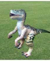 Opblaasbare levensechte velociraptor 38 cm
