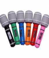 Opblaasbare microfoon 24 cm